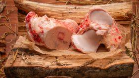 Liellopa gaļas buljona kauli BIO