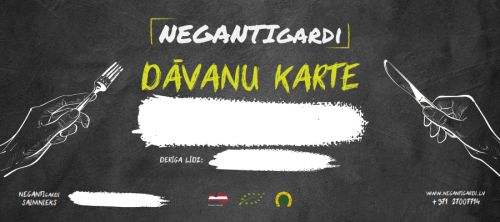 Dāvanu karte_Online_Подарочная карта _NegantGardi