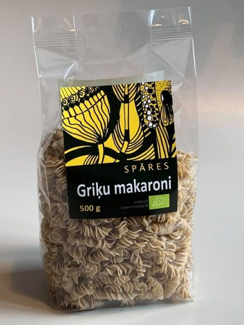 Griķu_makaroni_BIO_veselīgi_makaroni_veselīga_pārtika_NEGAMTIgardi
