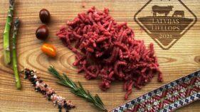 Liellopa maltā gaļa BIO